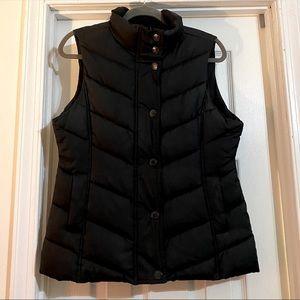GAP Vest - Black - Pockets- Waist Drawstrings